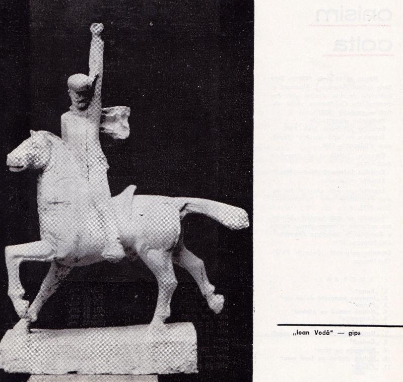 barbu bocu sculptura 1977
