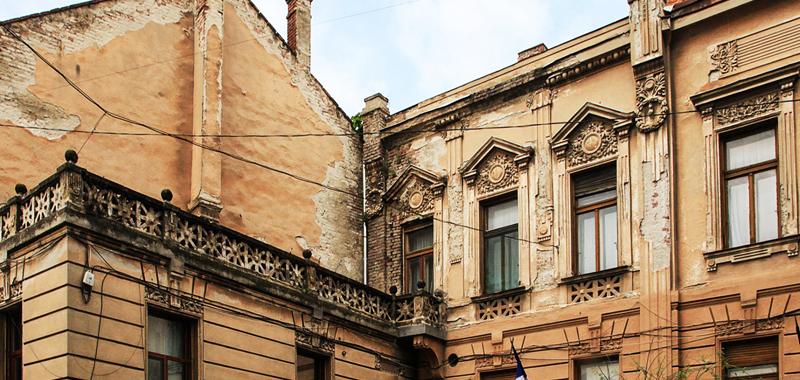 muzeul memorial vasile goldis arad vedere balcon