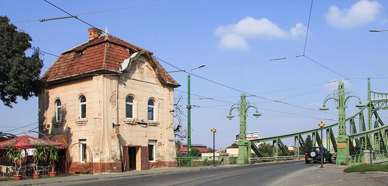 vama veche podul traian arad