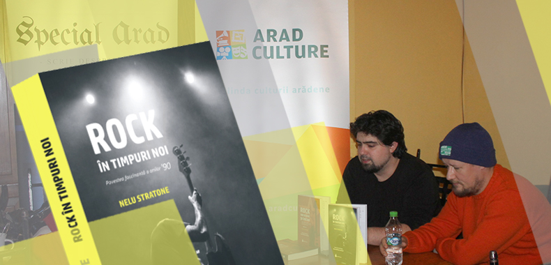 rock in timpuri noi - lansare la Arad