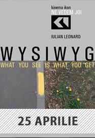 Iulian Leonard - WYSIWYG