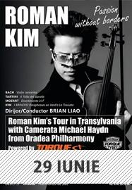 Concert Roman Kim @ Sala Palatului Cultural Arad
