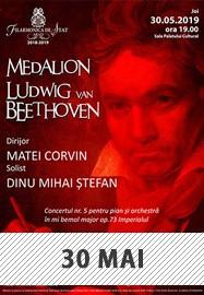 Medalion Ludwig van Beethoven @ Filarmonica de Stat
