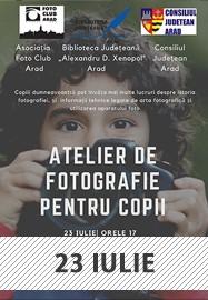 Atelier de fotografie pentru copii @ Parcul Copiilor Arad