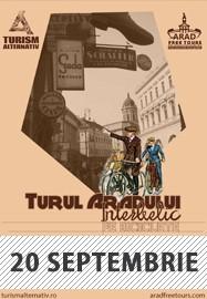 Arad Free Tours pe două roți - Turul Aradului interbelic septembrie