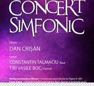 Concert simfonic @ Sala Palatului Cultural 18 feb