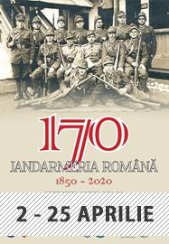 Expozitia Jandarmeria Română 1850 – 2020 @ Sala Clio