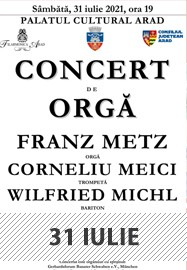 Concert de orgă @ Palatul Cultural Arad