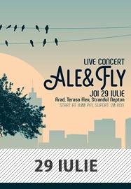concert Ale & Fly @ Terasa Flex